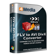 Free Download4Media FLV to AVI DivX Converter