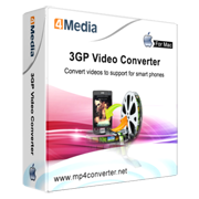 4Media 3GP Video Converter for Mac