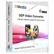 4Media 3GP Video Converter for Mac