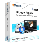 4Media Blu-ray to Video Converter for Mac