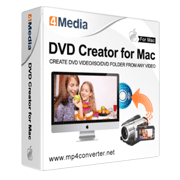 4Media DVD Creator for Mac