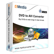 4Media DVD to AVI Converter for Mac