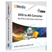 4Media DVD to AVI Converter for Mac
