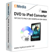 4Media DVD to iPad Converter for Mac