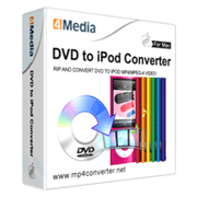 4Media DVD to iPod Converter for Mac SE