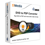 4Media DVD to PSP Converter for Mac