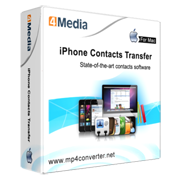 4Media iPhone Contacts Transfer for Mac