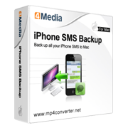 4Media iPhone SMS Backup for Mac
