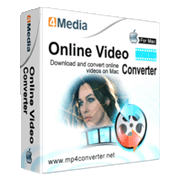 4Media Online Video Converter for Mac
