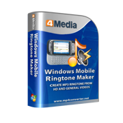 4Media Windows Mobile Ringtone Maker