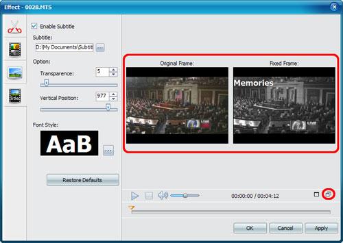 Convert AVCHD MOD videos