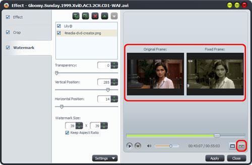 AVI to DVD Burning software