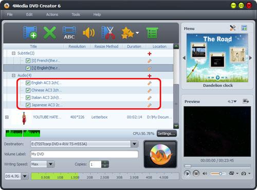AVI to DVD Creator