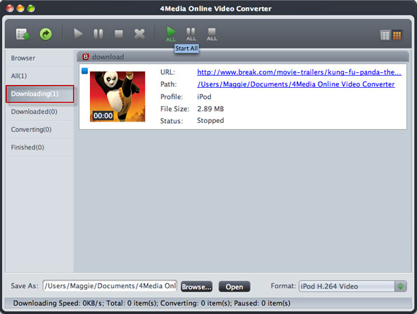 Online video converting and downloading