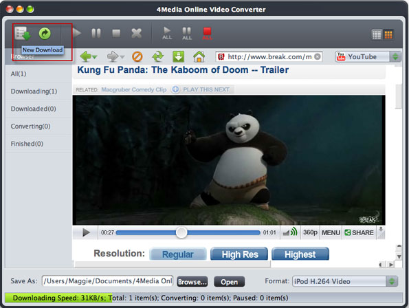 Online Video Converter for Mac