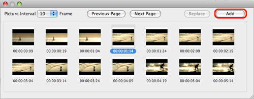 how to capture frame from videos on a Mac