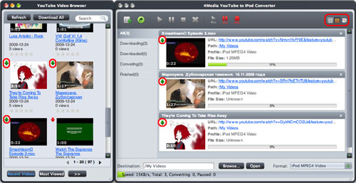 Convert YouTube to iPod for Mac