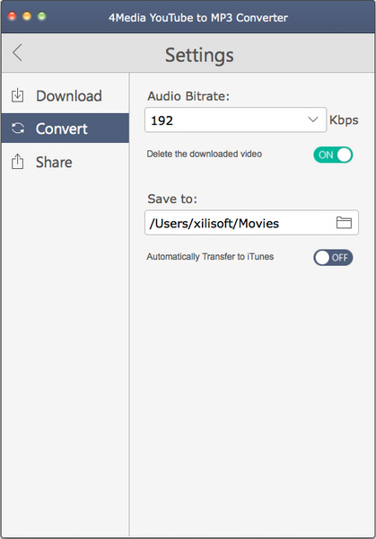 Download and convert YouTube to MP3