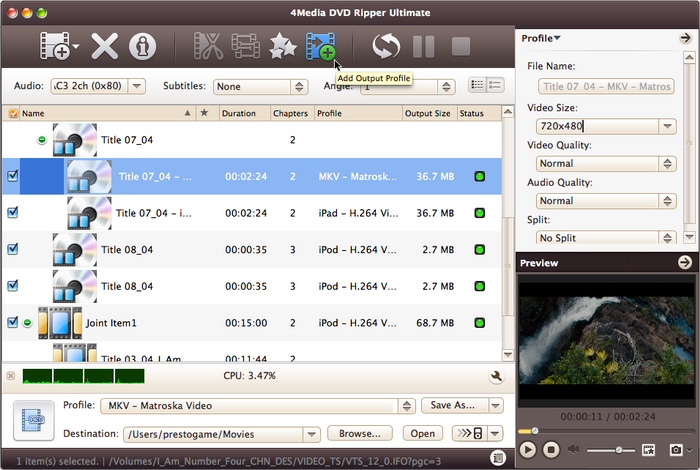 4Media DVD Ripper for Mac